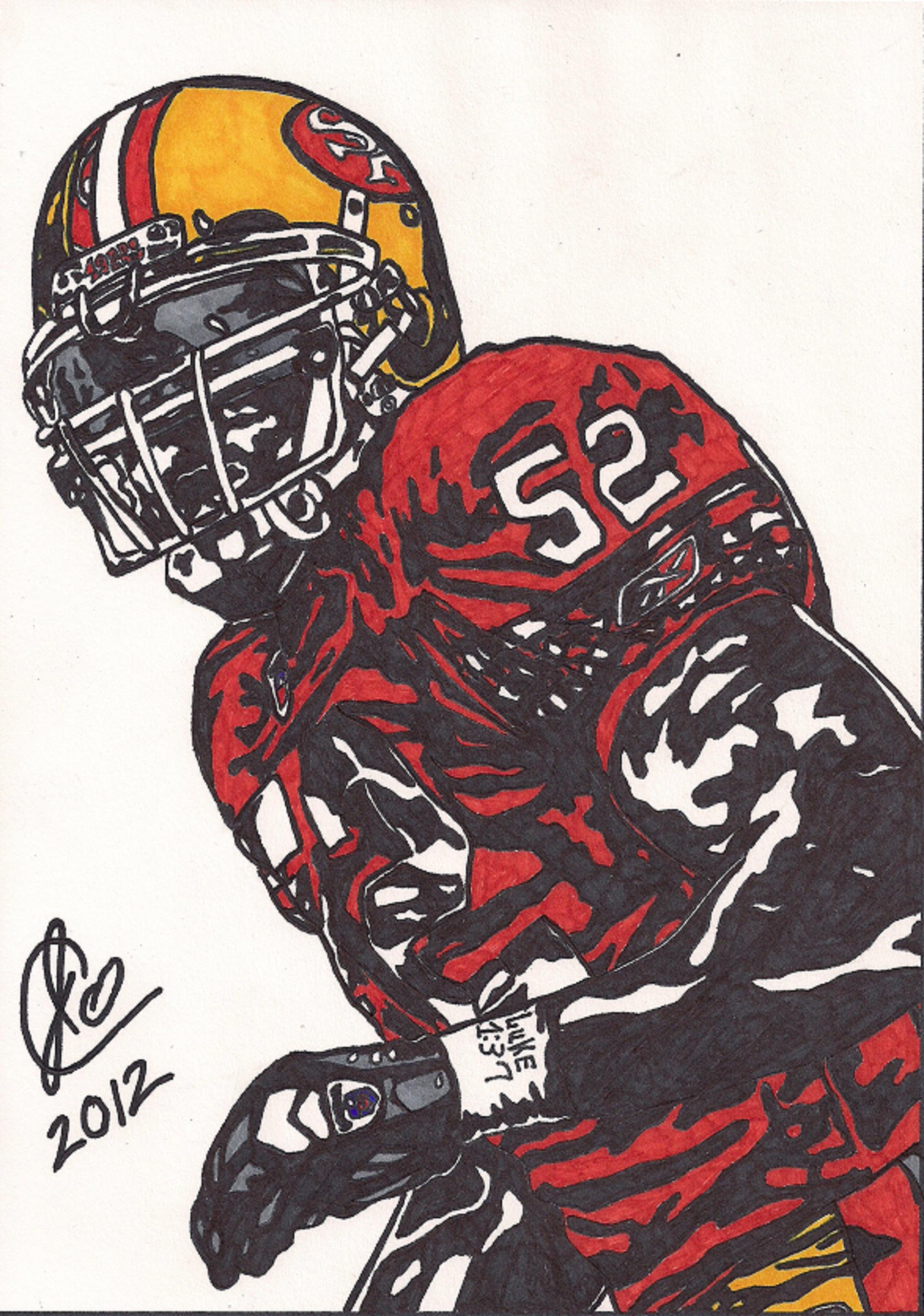 2348x3344 Patrick Willis Ink Illustration Jeremiah Colley Foundmyself