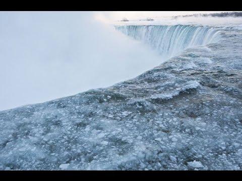 480x360 Frozen' Niagara Falls Drawing Tourists To Winter Spectacle