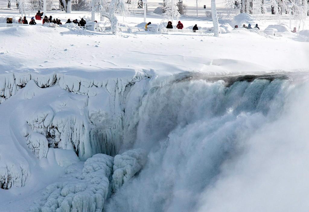 1024x704 Frozen Niagara Falls Drawing Tourists To Winter Spectacle Jewish