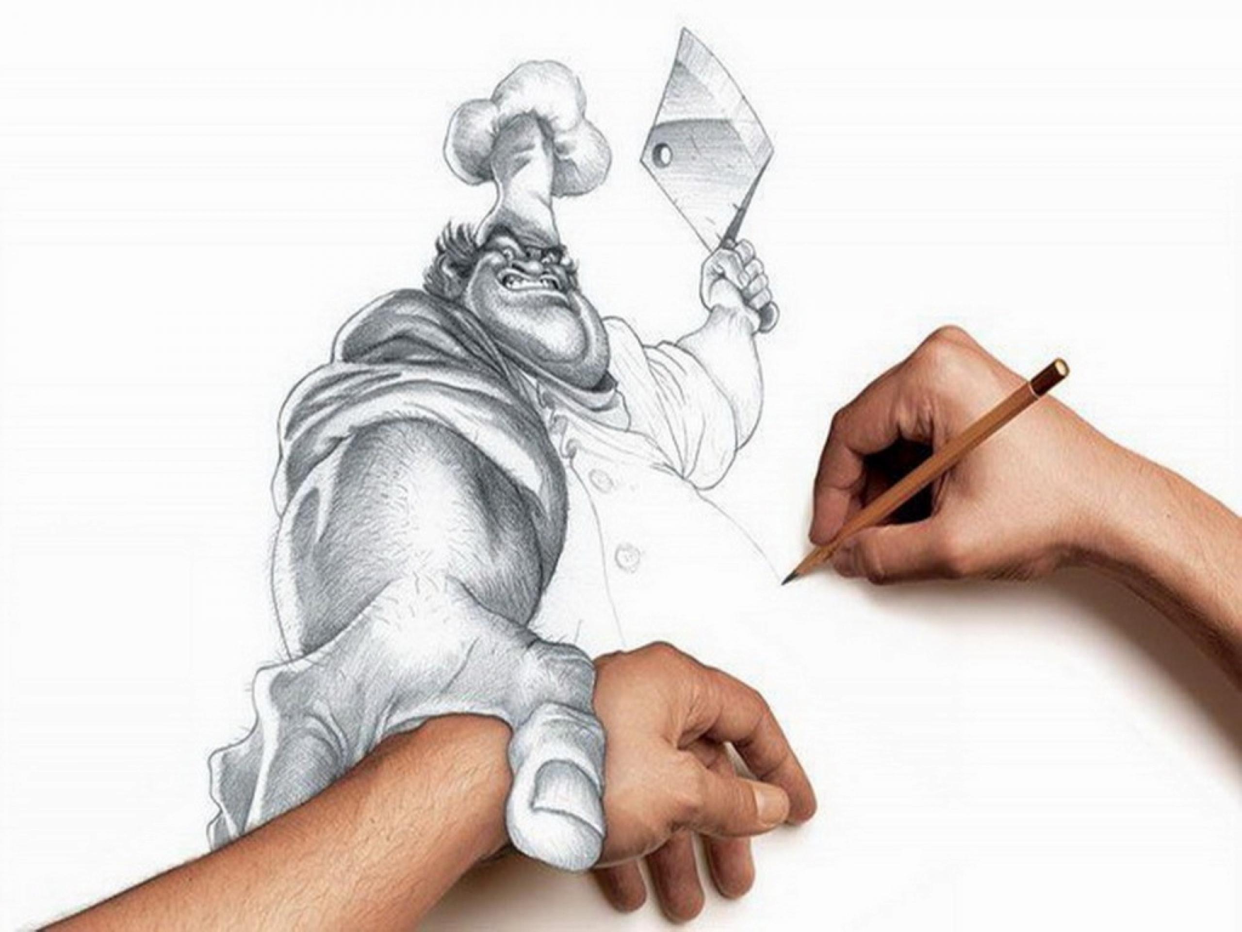 2560x1920 3d Nice Drawing Wallpaper 3d Sketch Wallpaper