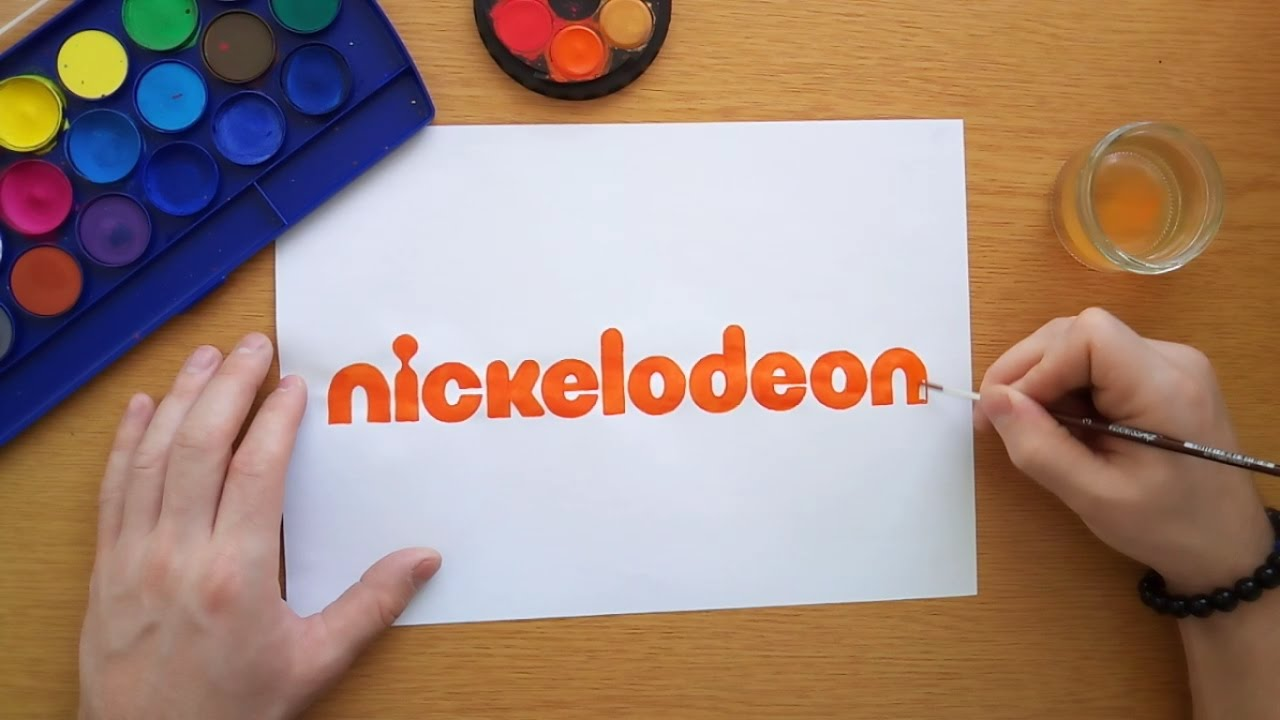 1280x720 How To Draw The Nickelodeon Logo (Logo Drawing)