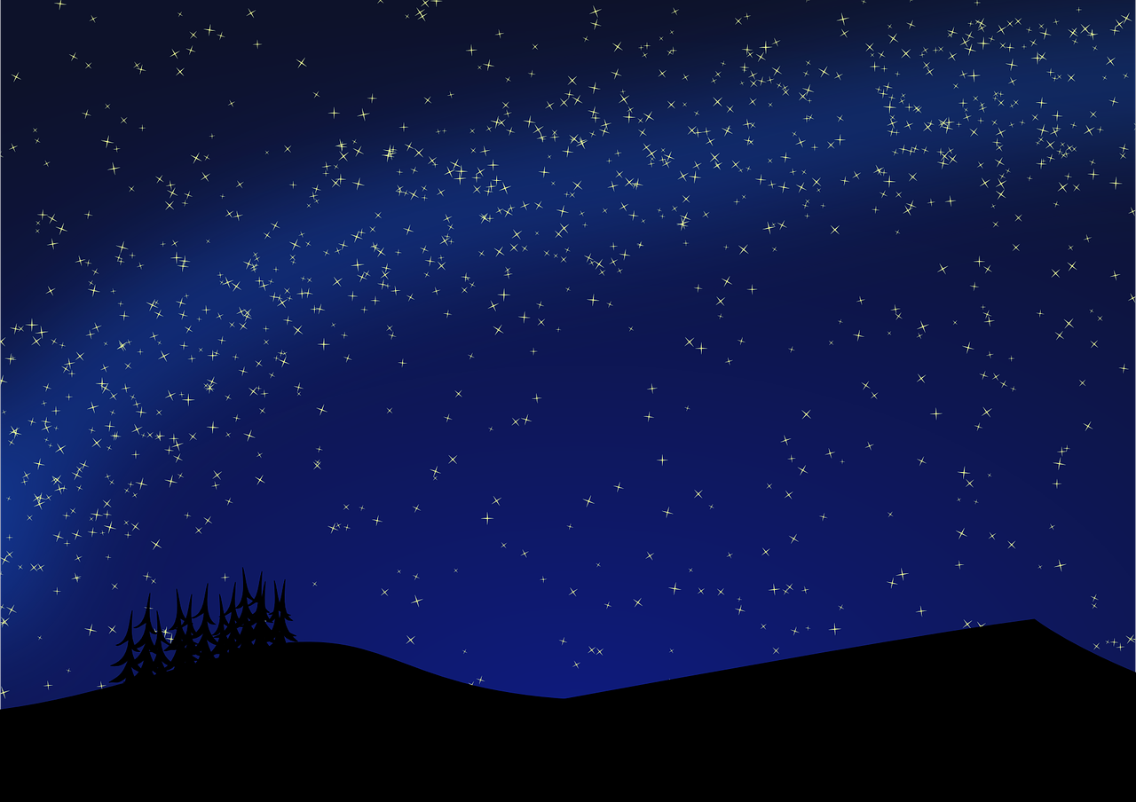 1280x904 How To Draw Night, Night Landscape 14 Beautiful Drawings Of Night