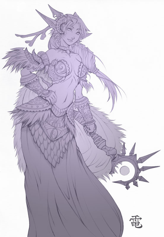 Night Elf Drawing at GetDrawings com   Free for personal use