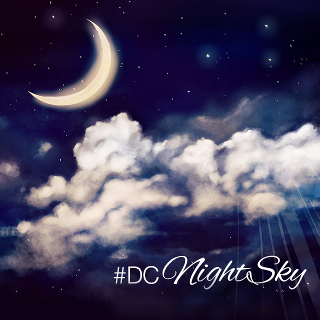 Night Sky Drawing At Getdrawingscom Free For Personal Use Night