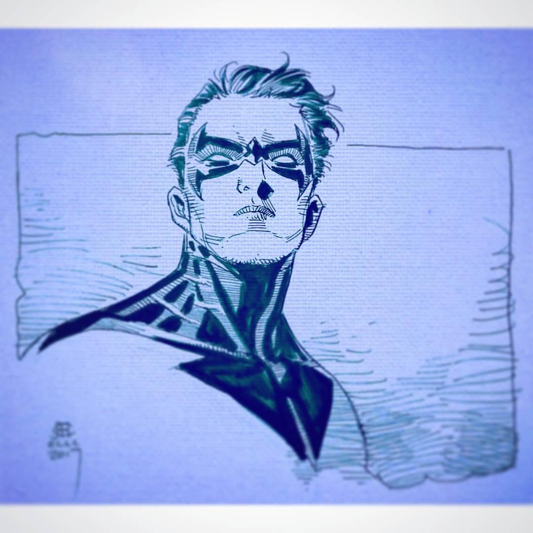 1080x1080 Jim Cheung Nightwing Drawing Ideas Teen Titans