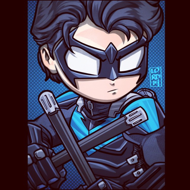 640x640 Lordmesa Headshot Nightwing!! One Of My Favorite Dc Characters