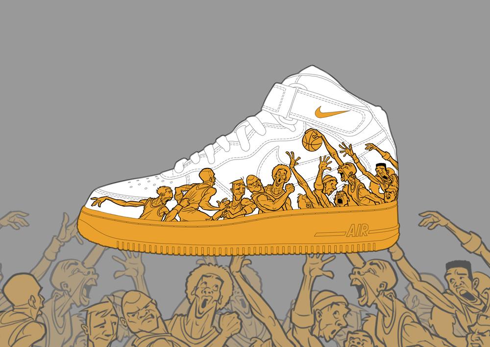 1000x707 Nike Air Force 1