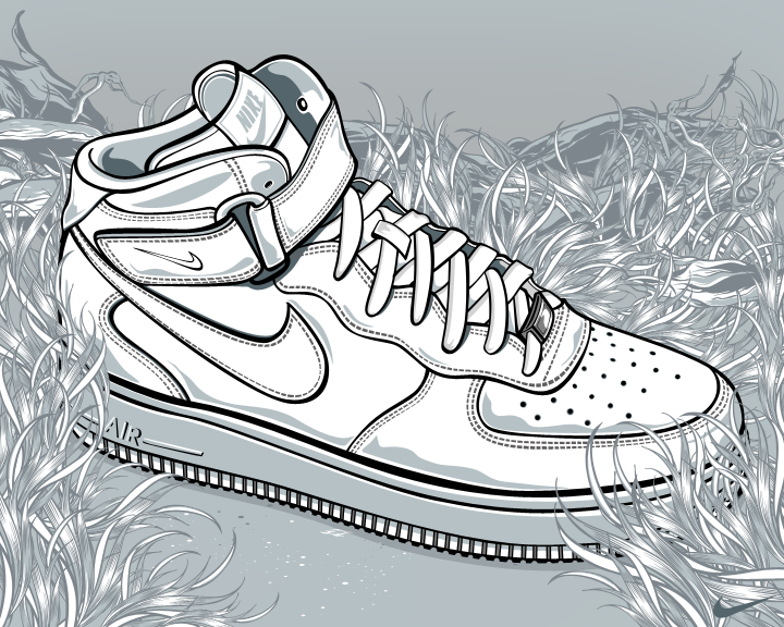 Exceptional 720x576 Nike Air Force One By Aseo On DeviantArt