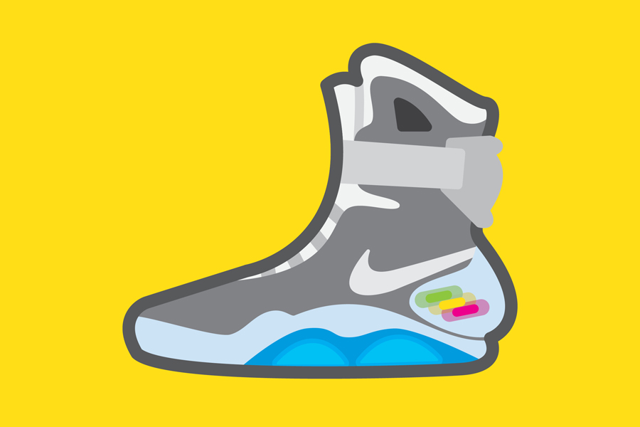 quality design d6bb5 2d1d3 Nike Air Mag Drawing at GetDrawings.com | Free for personal ...