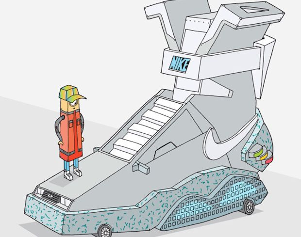 620x489 Image Result For Nike Dope Back To The Future