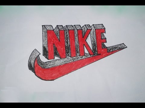 Drawing Nike Sign Melting Www Picturesboss Com