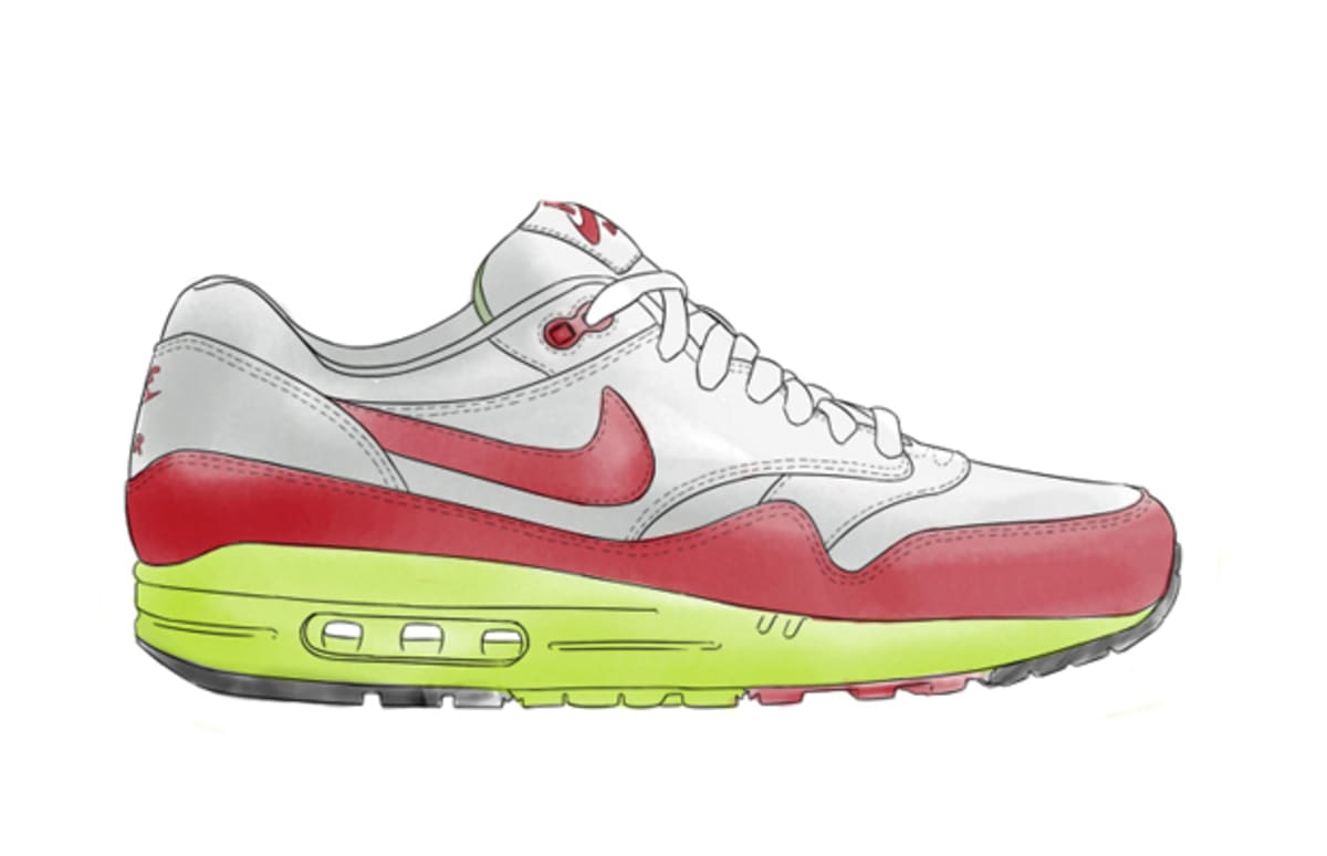 1200x774 Check Out These Hand Drawn Sketches Of Your Favorite Nike Air