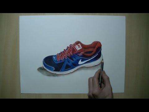 480x360 How To Draw Nike Shoe Revolution 2