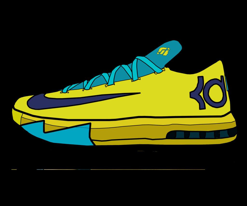 1024x853 Cartoon Drawings Nike Trainers