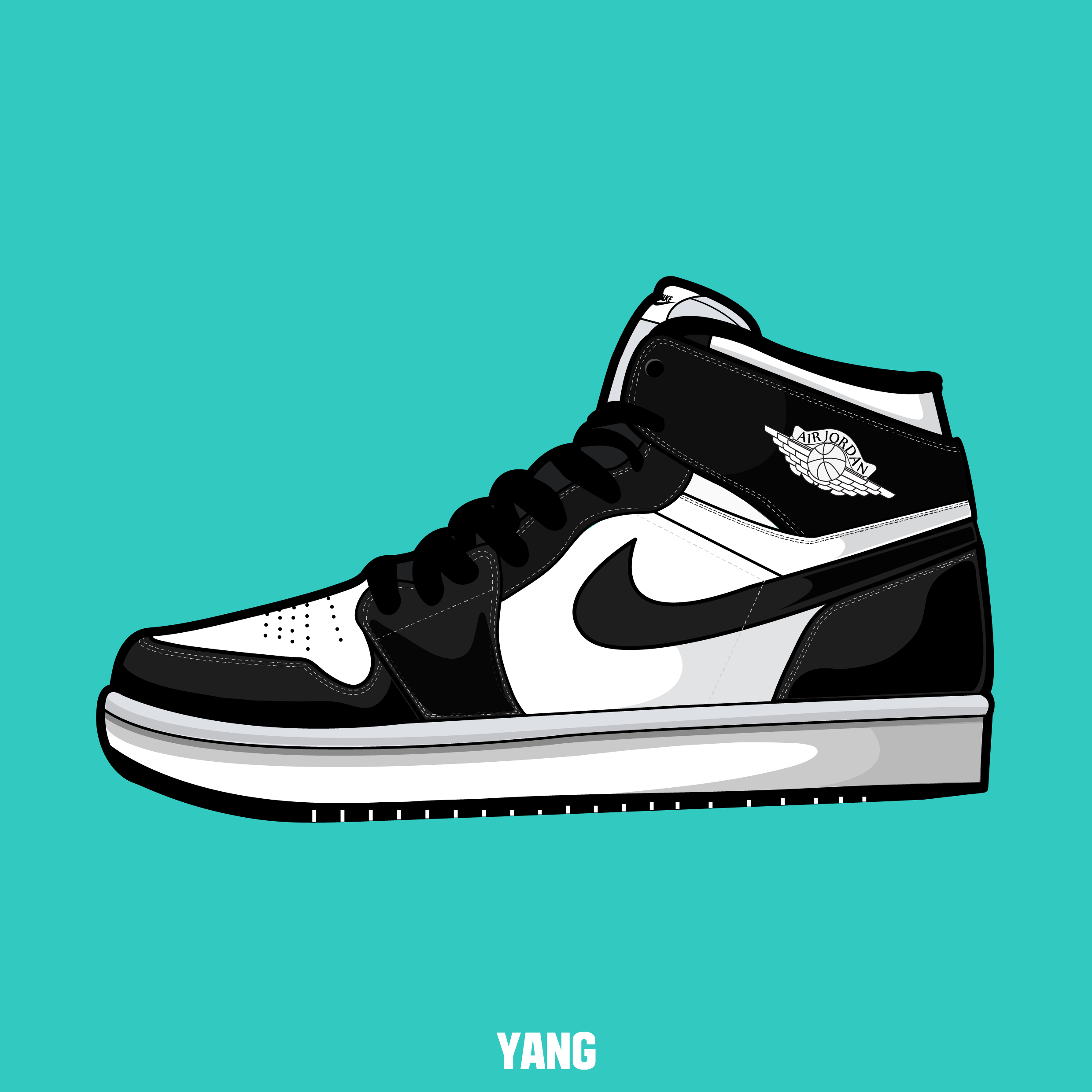 2480x2480 Drawing, Shoes, Sneakers, Nike, Air, Jordan, Carmine,graphic
