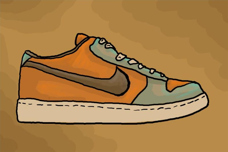 800x533 How To Draw Nike Shoes (With Pictures) Ehow