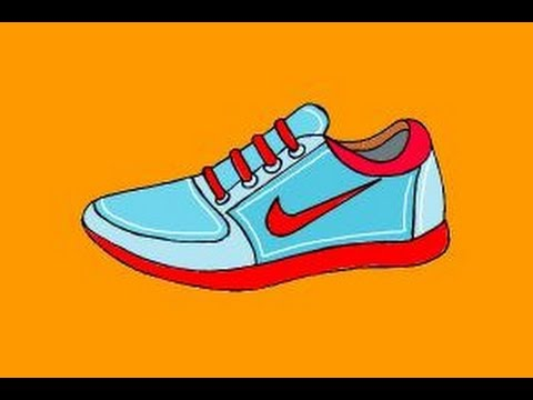 480x360 How To Draw Nike Shoes