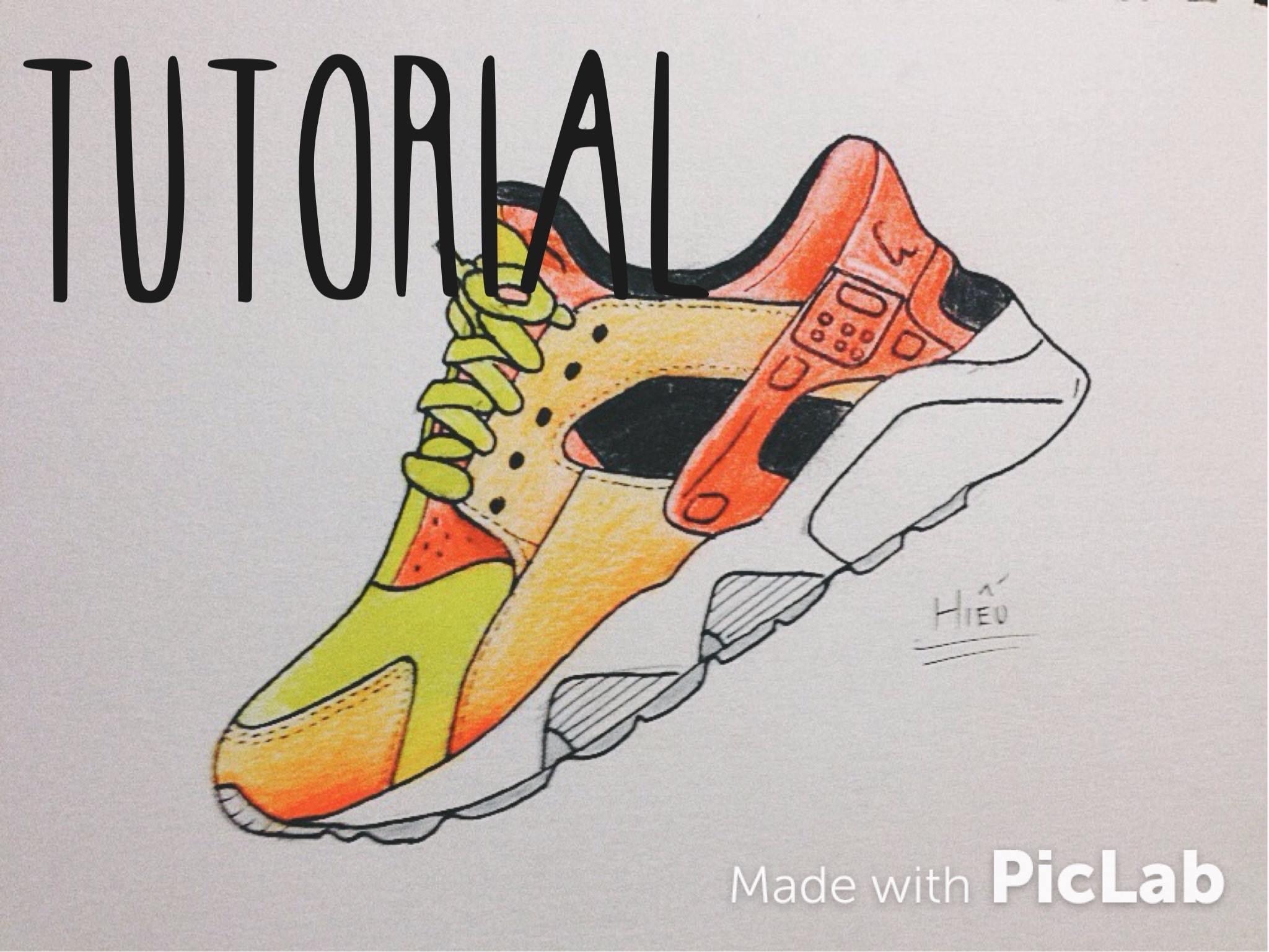 2048x1537 Draw Nike Air Huarache My First Youtube Video! Nike Air