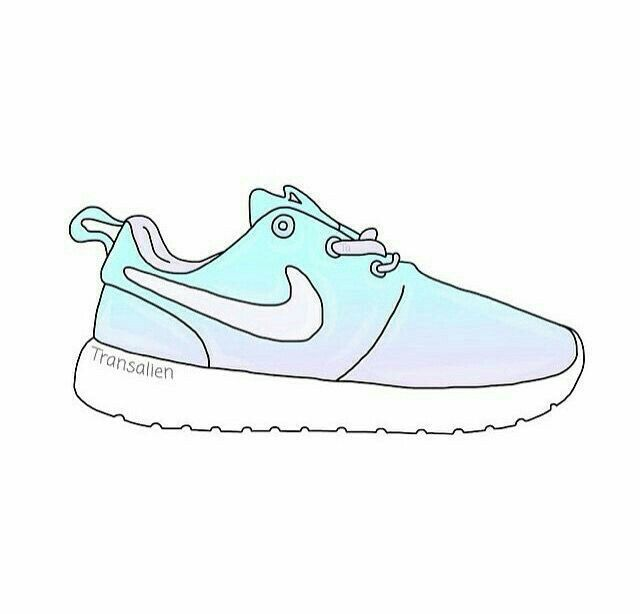 nike sneakers drawing at getdrawingscom free for