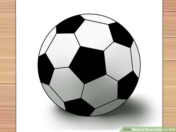 728x546 3 Ways To Draw A Soccer Ball
