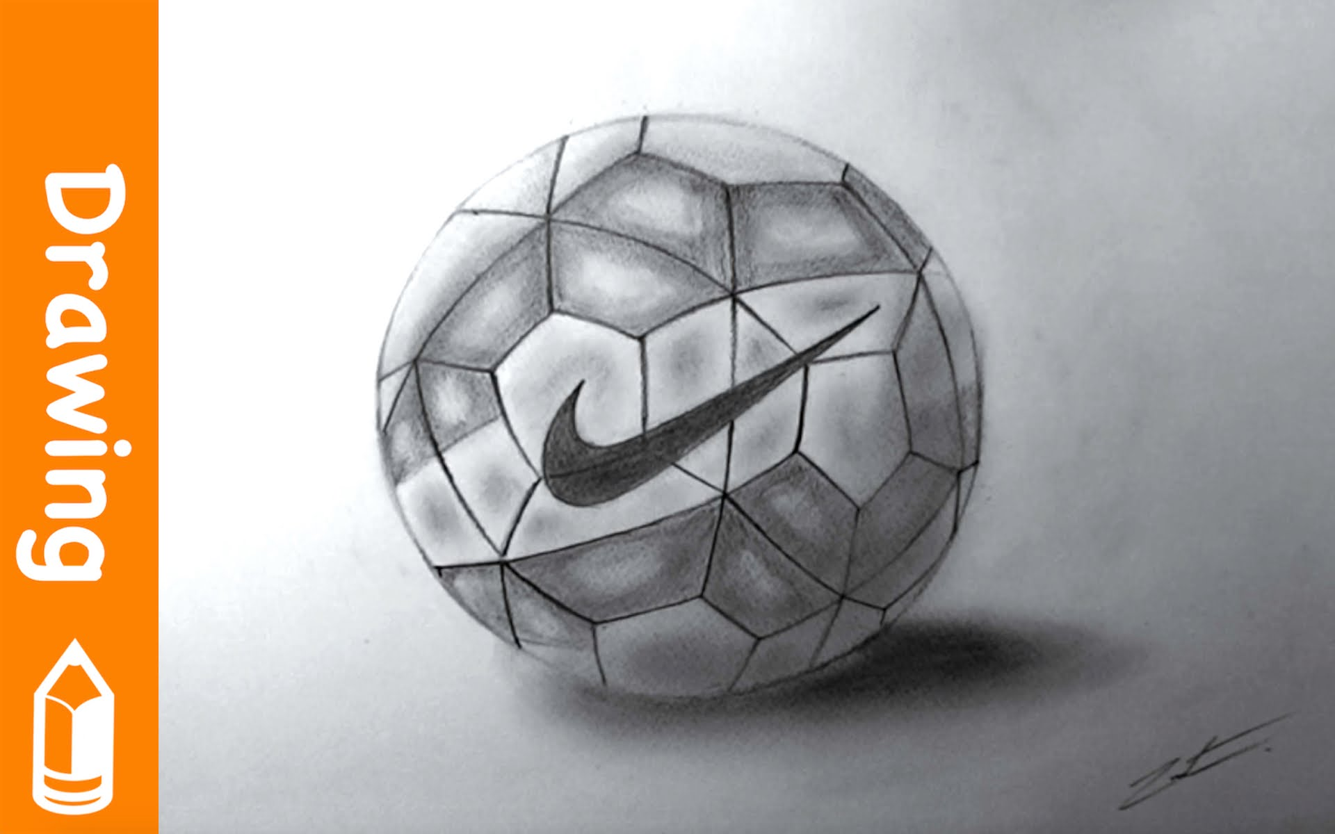 1920x1200 Drawing Nike Football