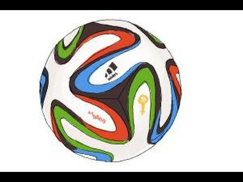 480x360 How To Draw A Brazuca Ball