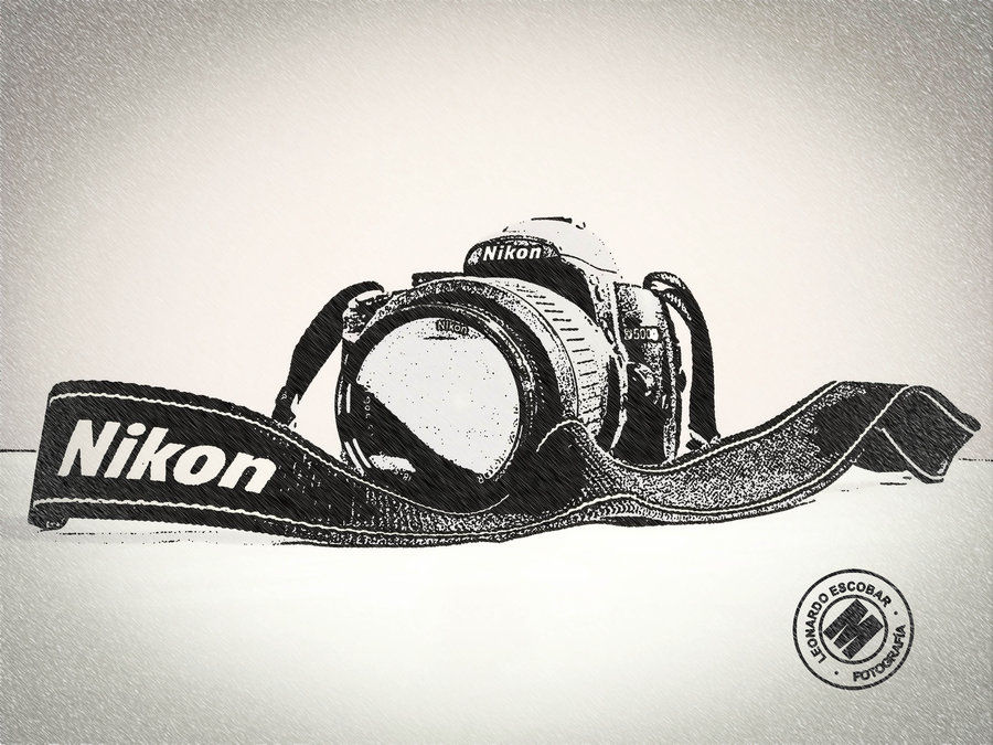 900x675 Nikon Camera Sketch Images Pinterest Cameras