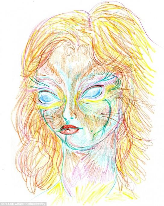 544x685 Illustrator Takes Lsd Before Spending Nine Hours Drawing