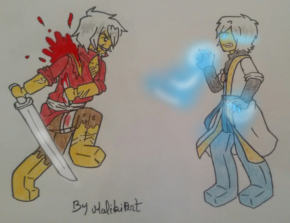 1018x784 Ninjago Oc's Master Of Blood Vs Master Of Dragon By