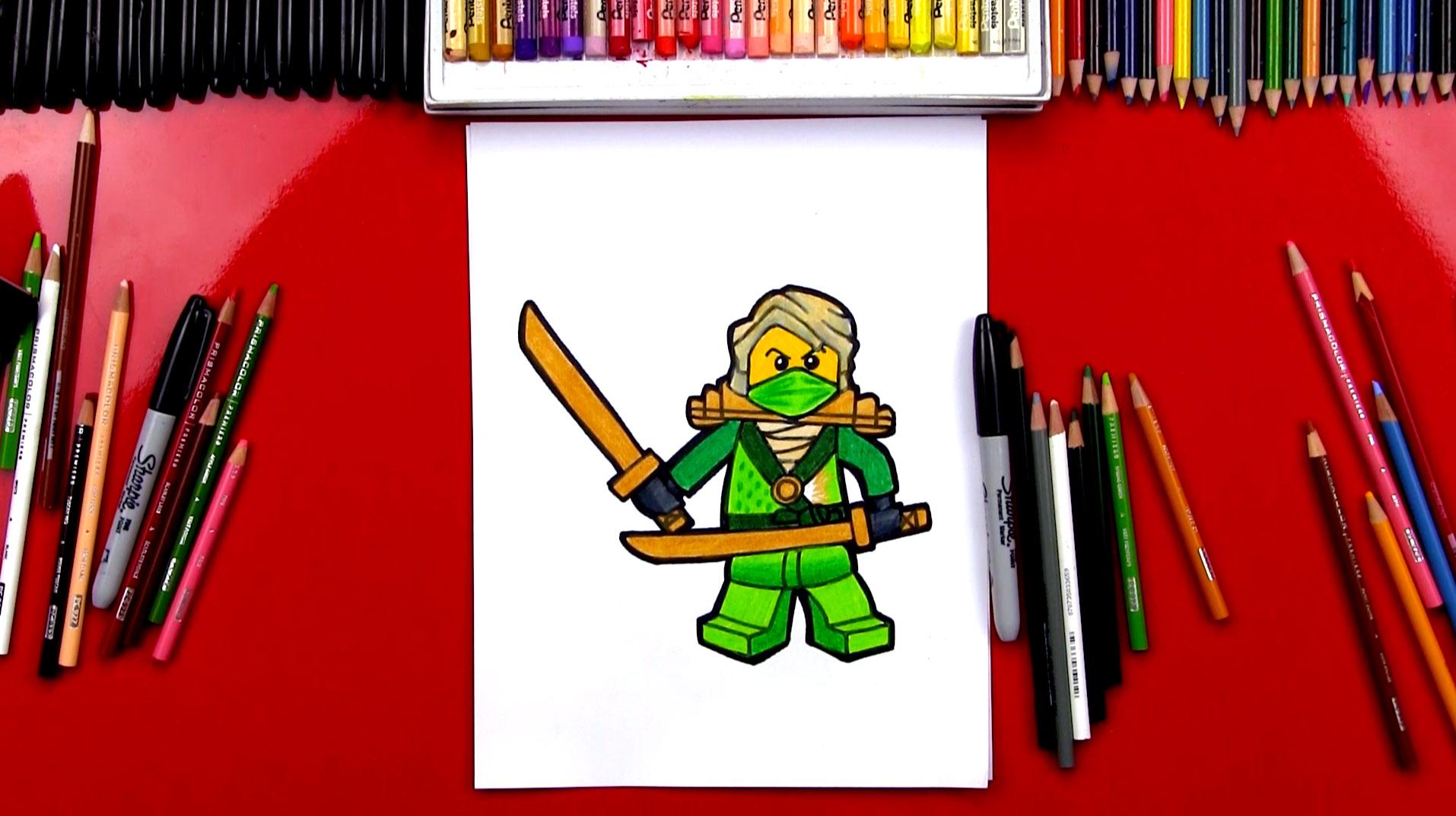 1914x1073 How To Draw Lloyd From Ninjago