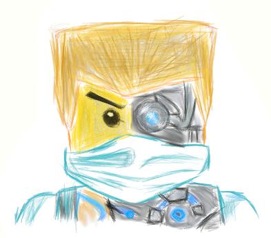 Ninjago Drawing Zane At Getdrawingscom Free For Personal