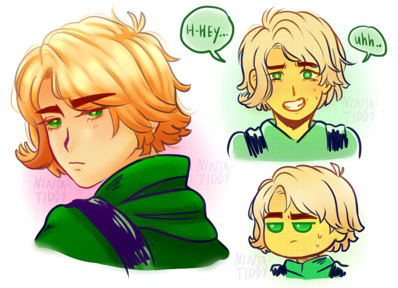 Ninjago Lloyd Drawing At Getdrawingscom Free For Personal Use