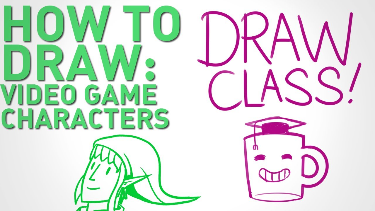 1280x720 How To Draw Video Game Characters