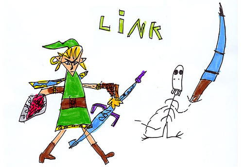 500x344 Making Fun Of Crappy Kids Drawings Of Nintendo Characters