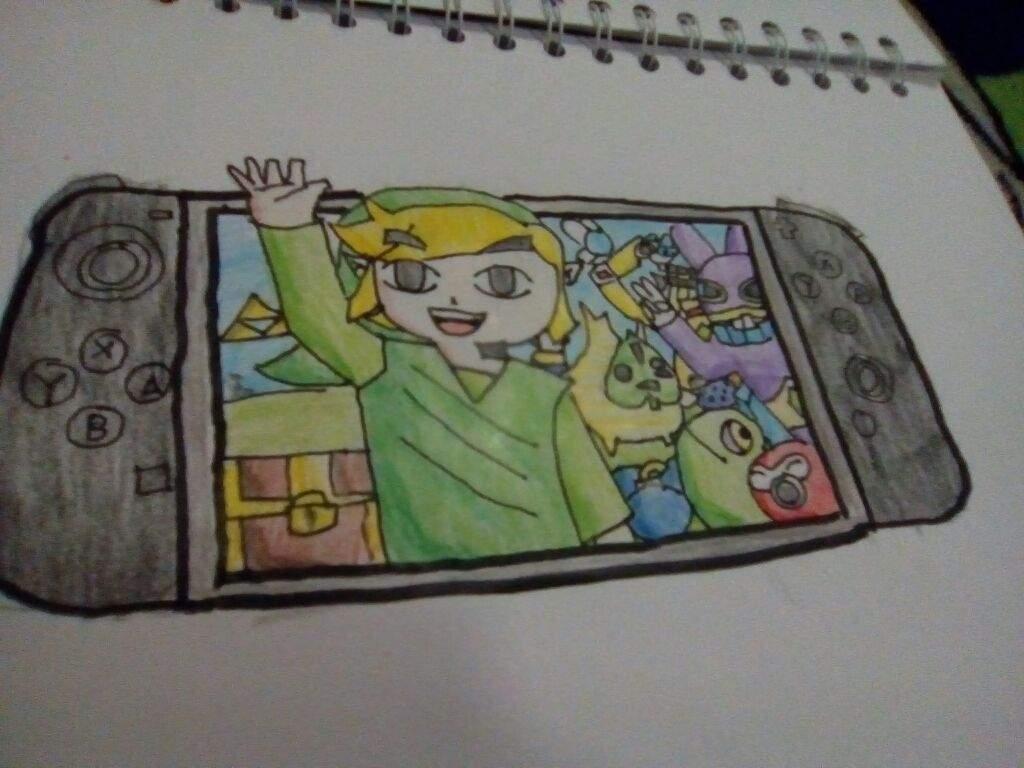 1024x768 The Nintendo Switch Drawing Zelda Amino