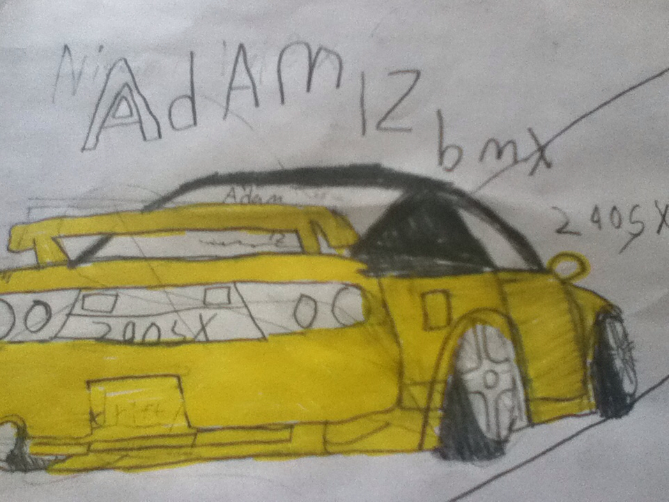960x720 Adam Lz Nissan 240sx Drawing Cars Nissan 240sx
