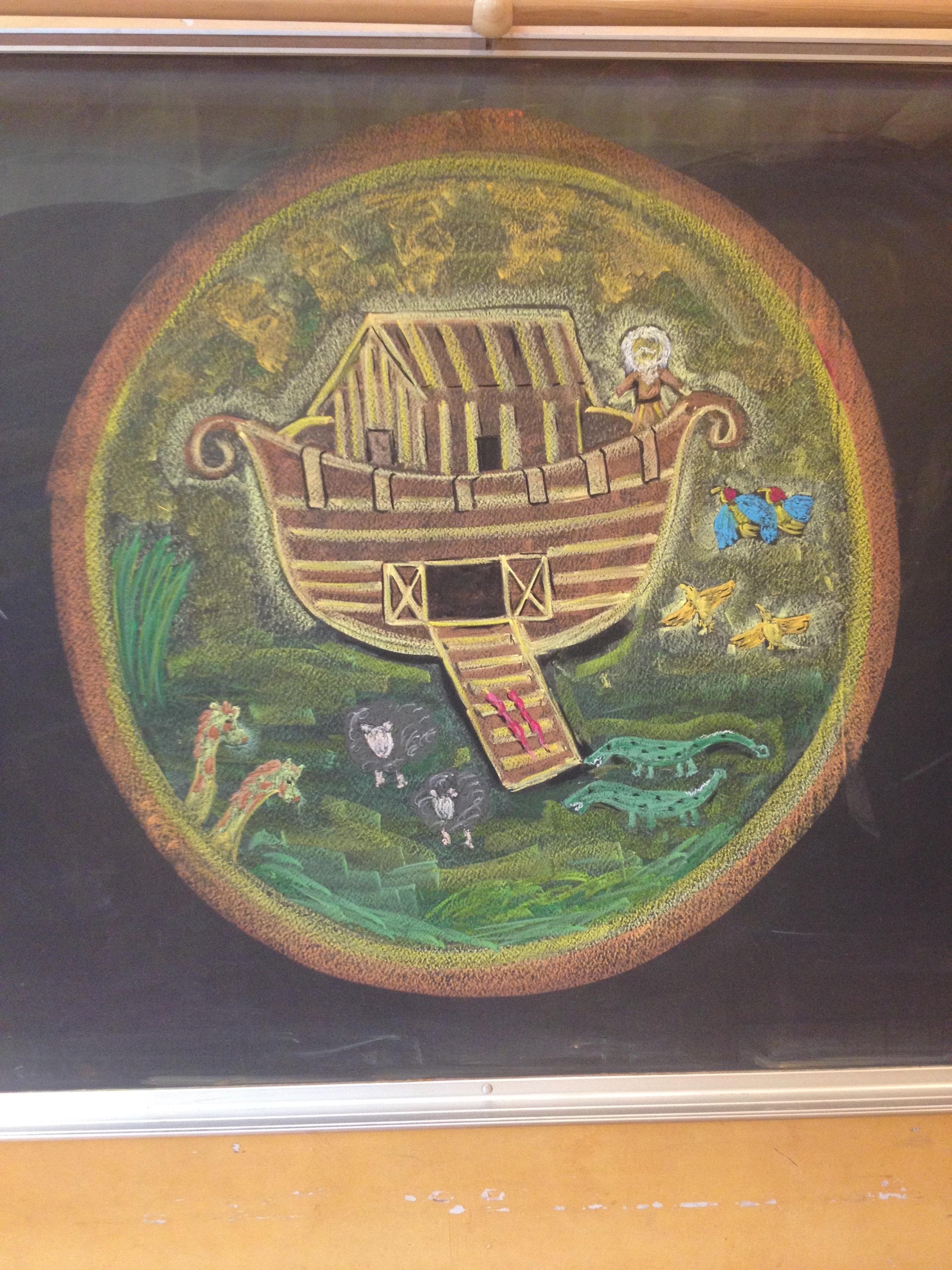 2448x3264 Chalkboard Drawings In The Waldorf Classroom