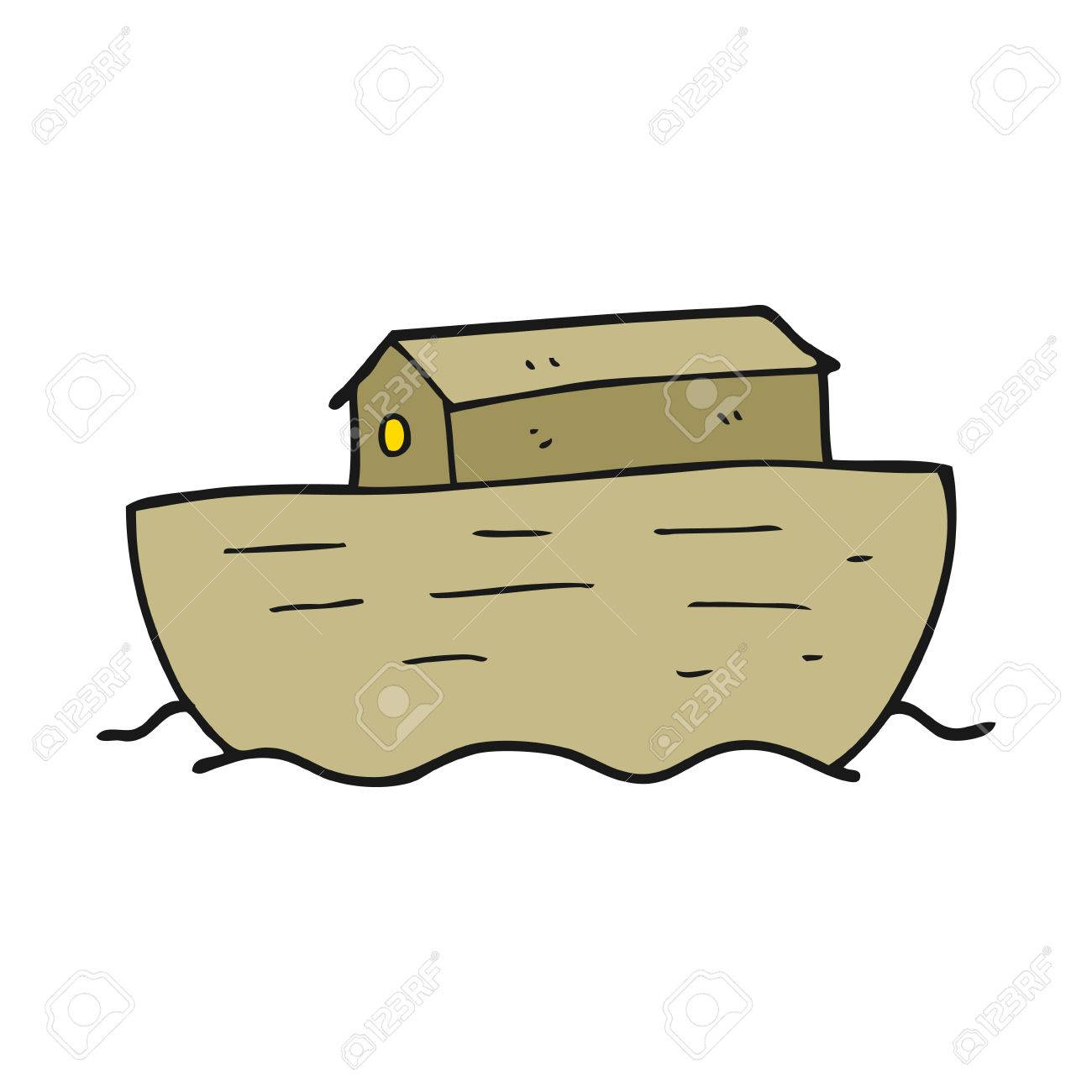 1300x1300 Freehand Drawn Cartoon Noah's Ark Royalty Free Cliparts, Vectors