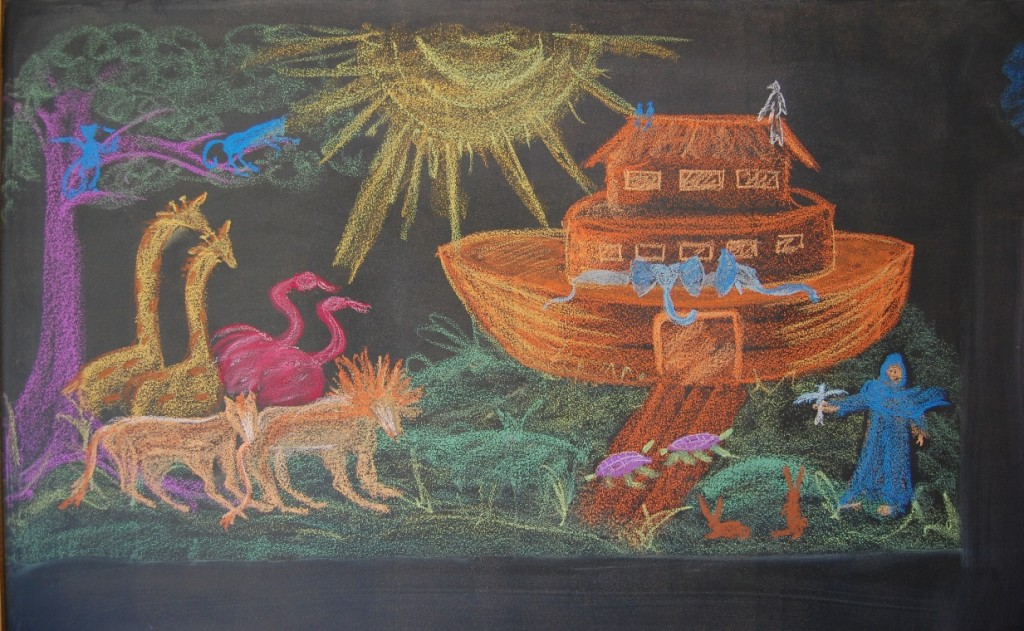 1024x631 Waldorf ~ 3rd Grade ~ Old Testament Stories ~ Noah's Ark