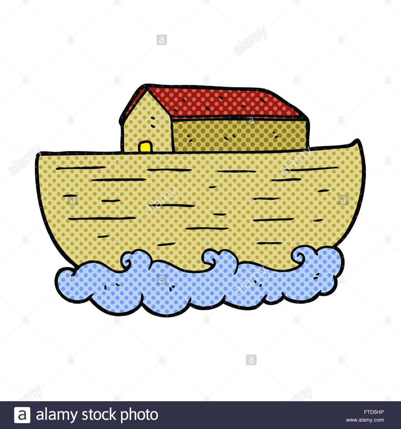 1299x1390 Freehand Drawn Cartoon Noah's Ark Stock Vector Art Amp Illustration