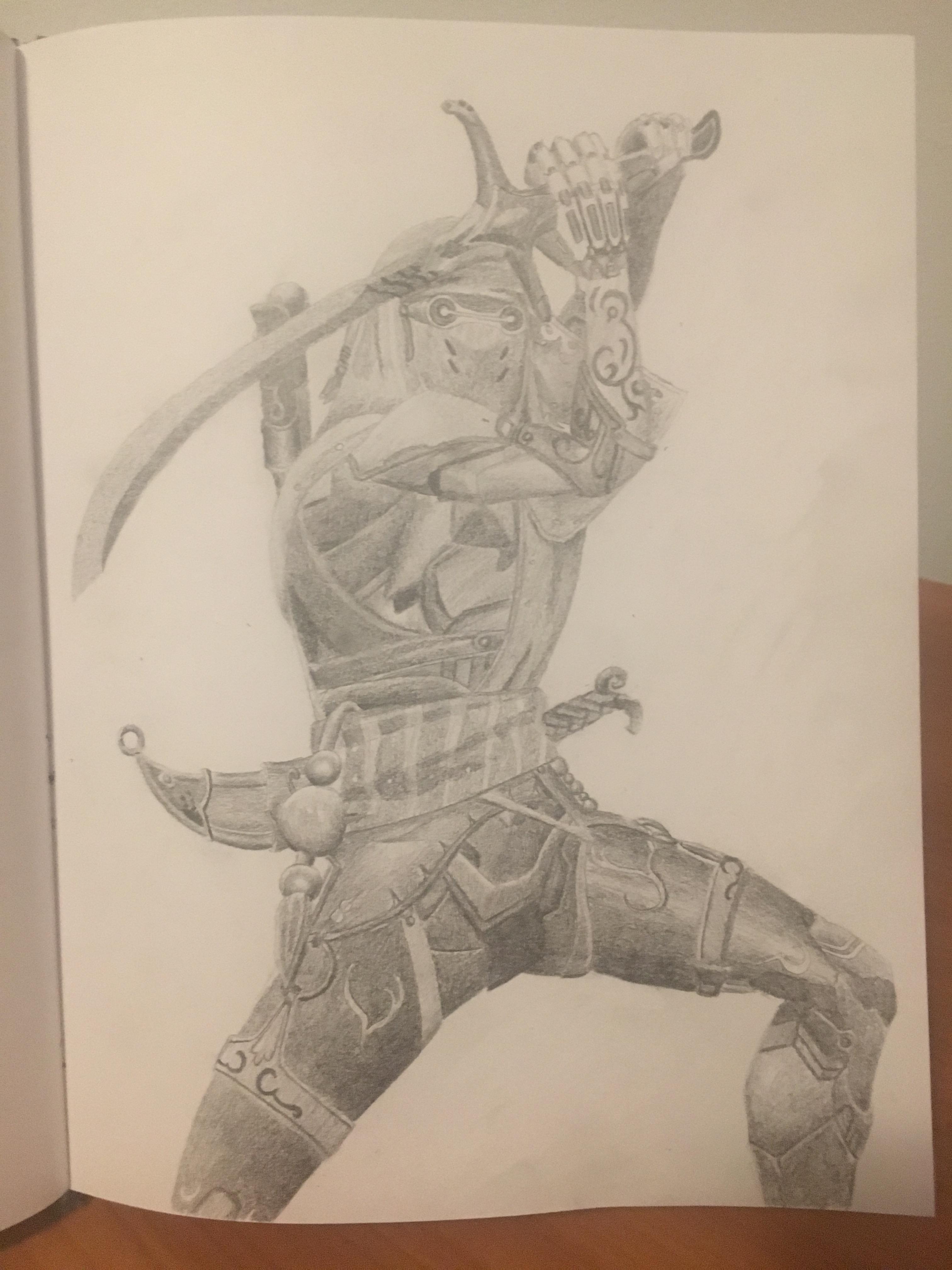 3024x4032 Genji nomad skin drawing