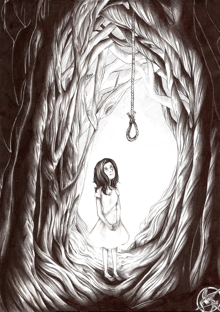 750x1065 Commission. Hanging Tree By Evaholder