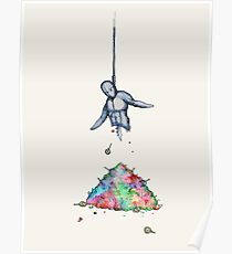 210x230 Hanging Noose Drawing Posters Redbubble