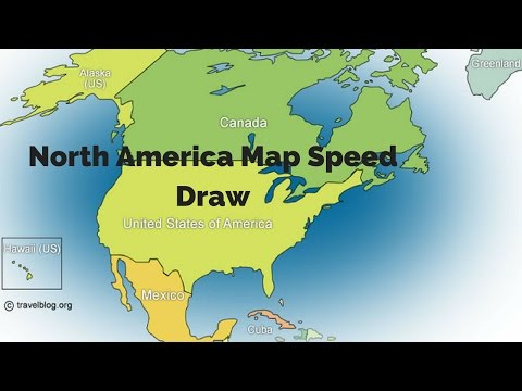 480x360 How To Draw Map Of North America