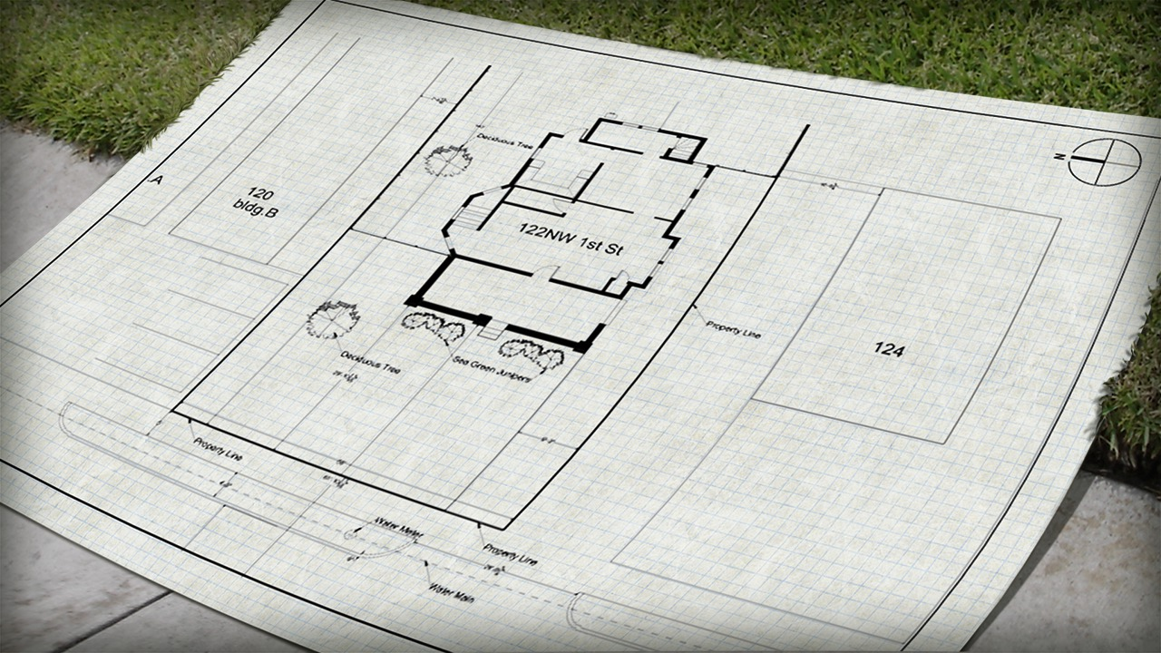 1280x720 Drawing A Site Plan In Autocad Pluralsight