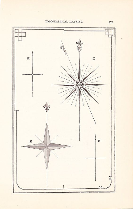 564x883 1892 Technical Illustration Of North Star. Inspiration