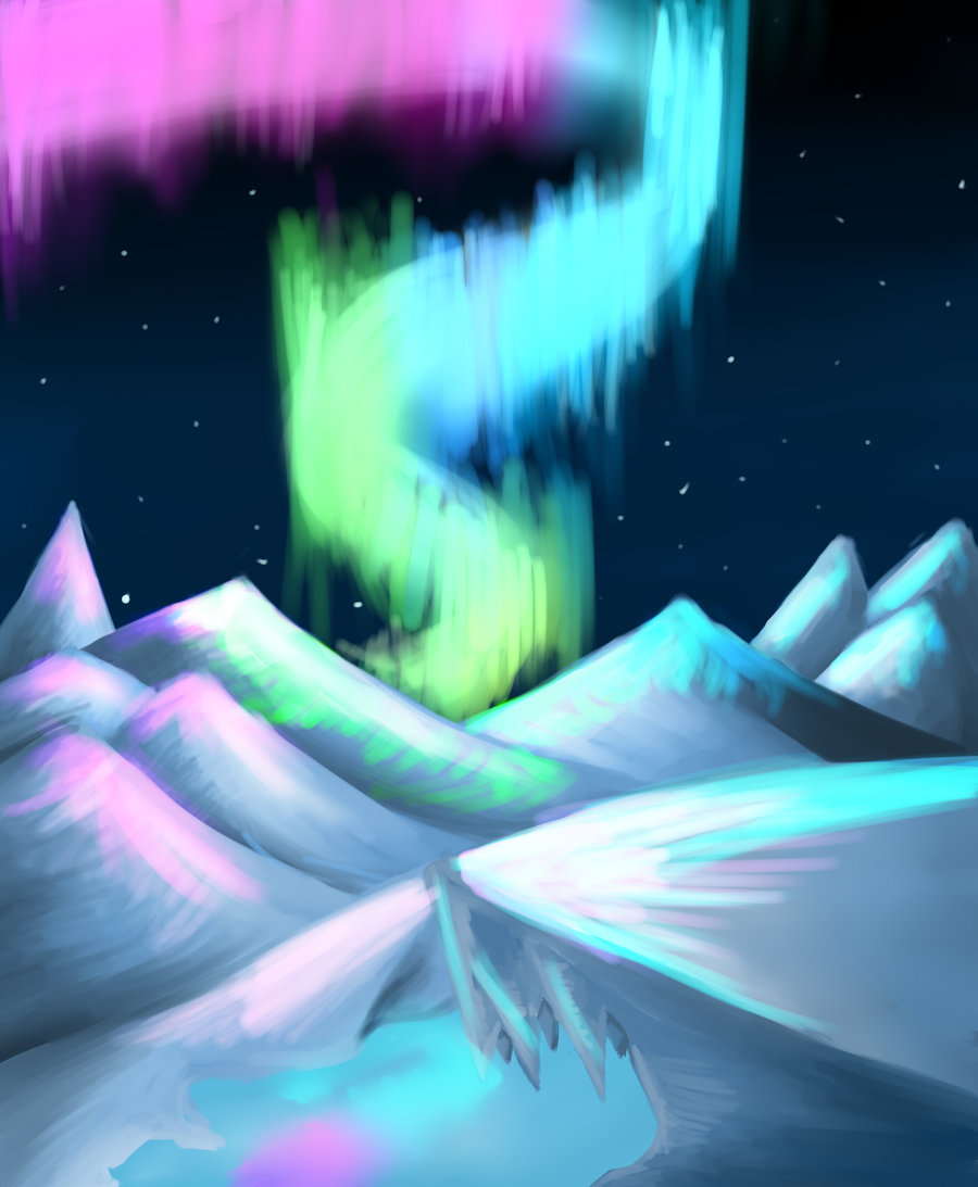 900x1093 The Northern Lights By St4rlyte