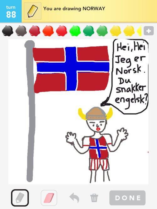 500x667 Norway Drawings