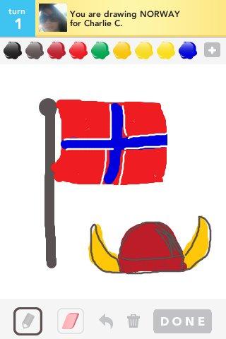 320x480 Norway Drawings