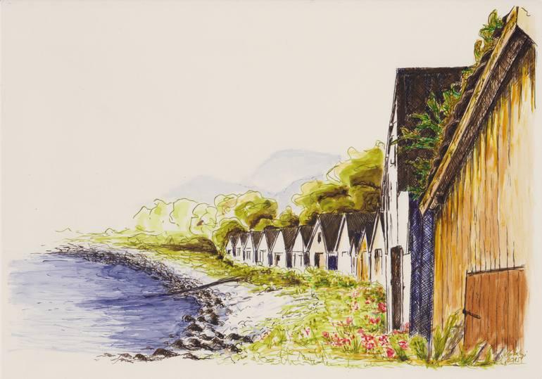 770x539 Saatchi Art Norway Drawing By Lilla Varhelyi